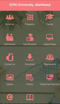 ICFAI University Jharkhand Admission 2019 screenshot 2