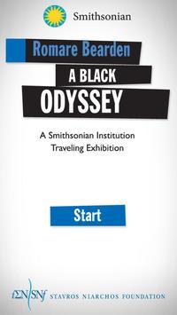 Romare Bearden A Black Odyssey poster