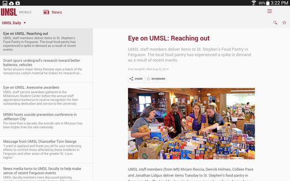 UMSL Mobile 3.0 screenshot 6