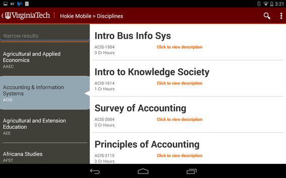 Hokie Mobile screenshot 7