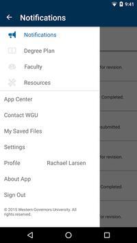 myWGU Mobile syot layar 4