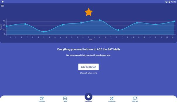 SAT Math Test & Practice 2020 imagem de tela 8
