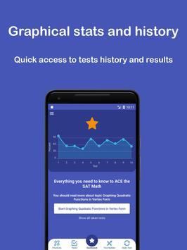 SAT Math Test & Practice 2020 Cartaz
