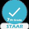 ikon Grade 7 STAAR Math Test & Practice 2019