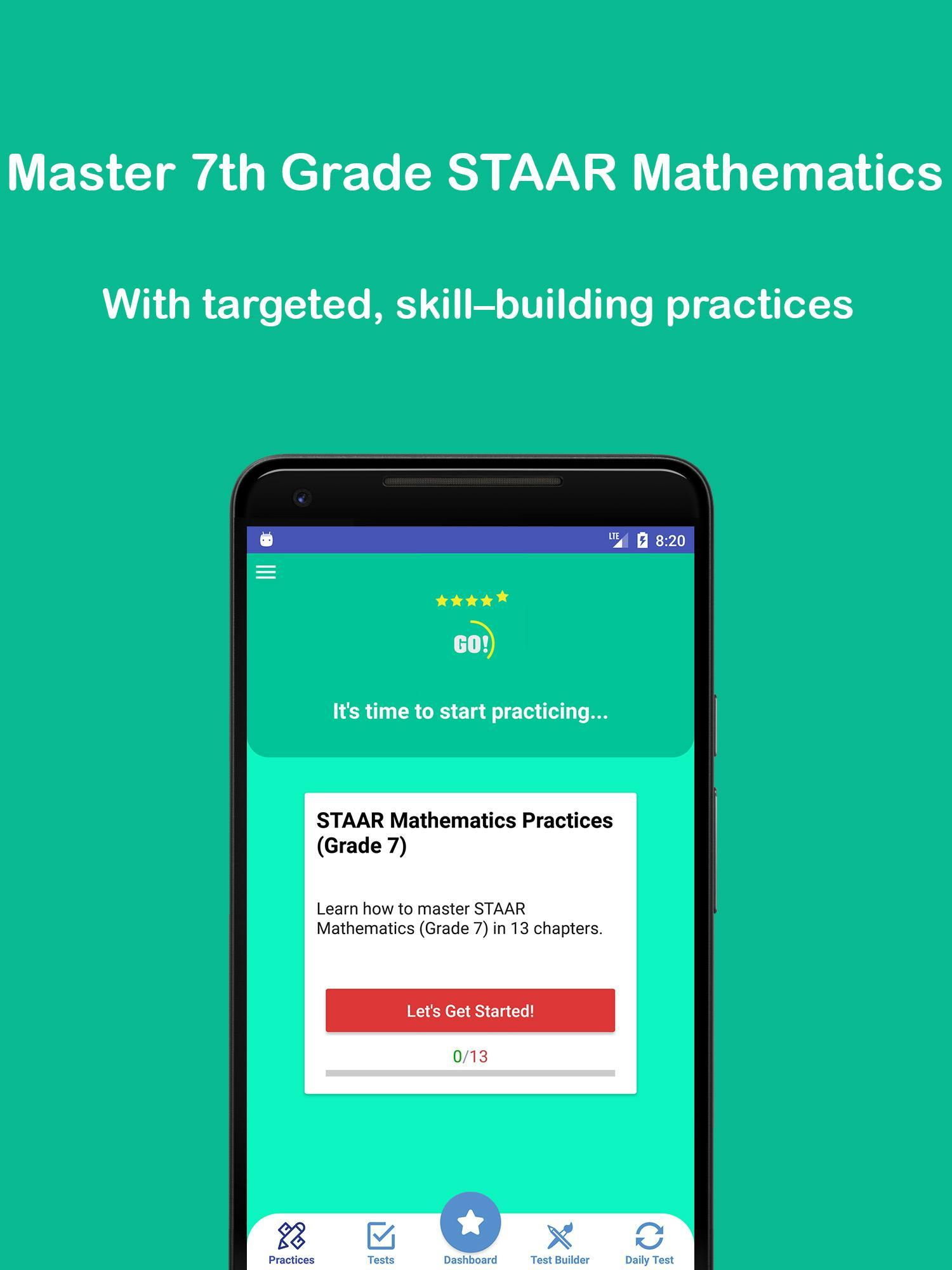 Grade 7 STAAR Math Test & Practice 2018-2019 for Android - APK Download
