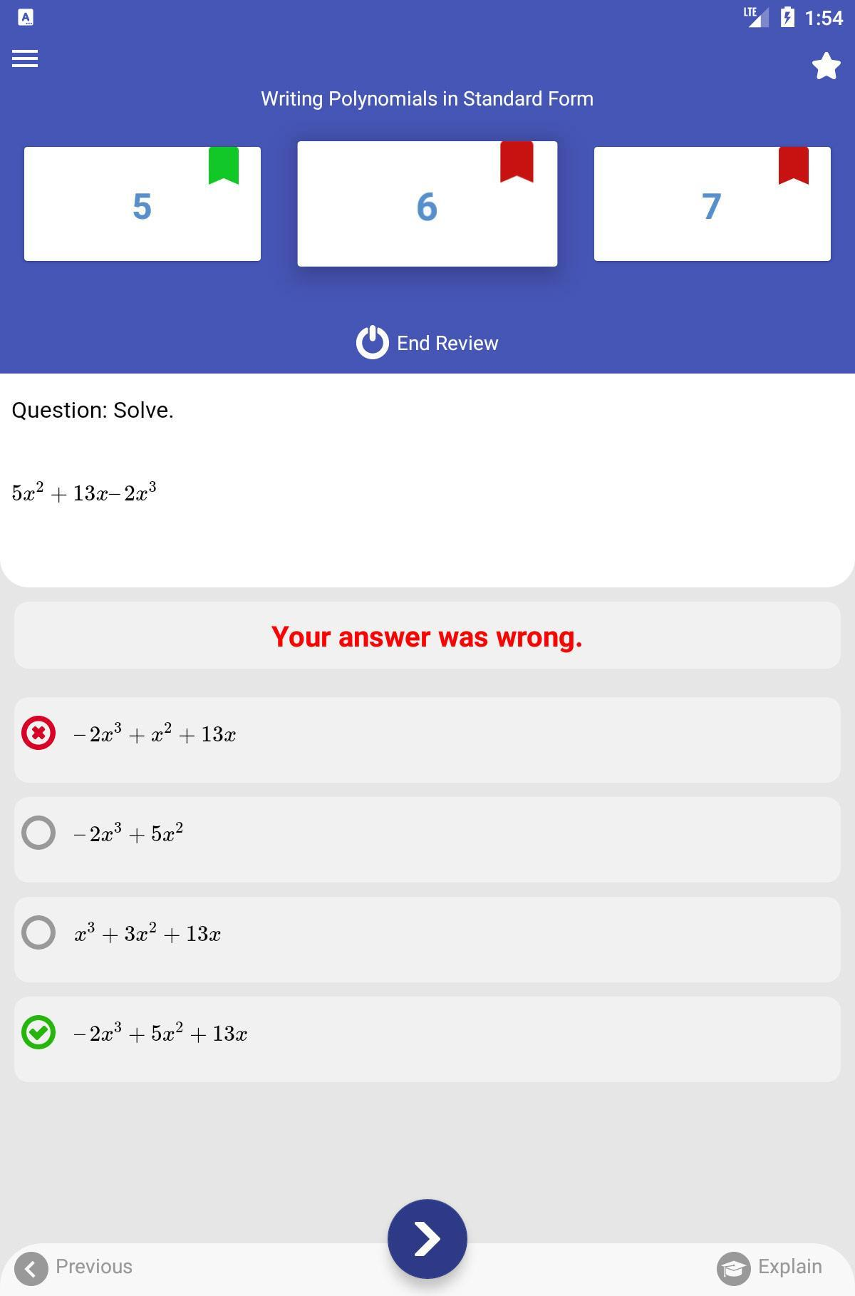 Grade 7 STAAR Math Test & Practice 2018-2019 for Android
