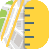 GPS Maps Ruler – Measure icon