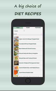 Recipes for Weight-Loss and Diet poster