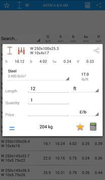Metal Calculator - Steelyard screenshot 1