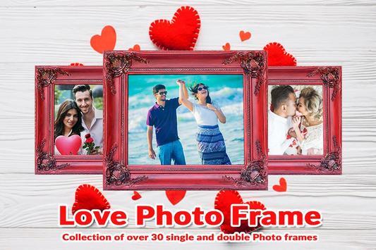 Valentine Day Photo Frame - Love Photo Frames poster
