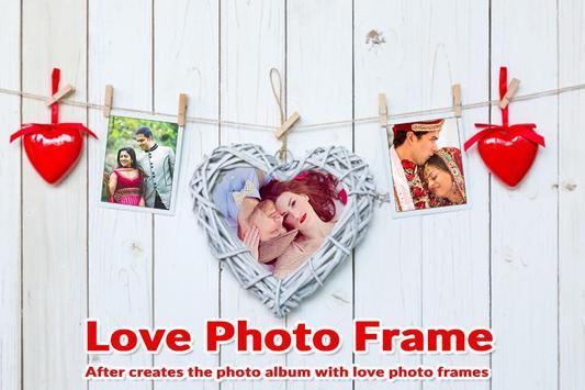 Valentine Day Photo Frame - Love Photo Frames screenshot 1