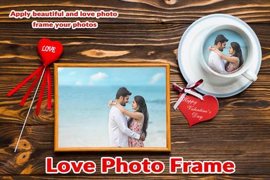 Valentine Day Photo Frame - Love Photo Frames screenshot 3