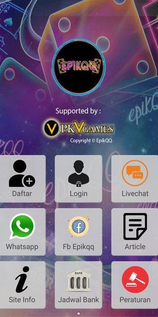 Epikqq Pkv Games Domino 99 Domino Qq Bandarq For Android Apk Download