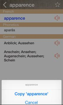 German French Dictionary & Translator Free screenshot 2