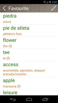 Spanish English Dictionary & Translator Free screenshot 4