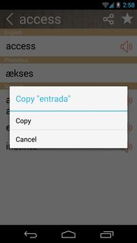 Spanish English Dictionary & Translator Free screenshot 2
