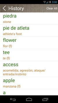 Spanish English Dictionary & Translator Free screenshot 3