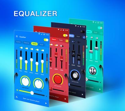 Эквалайзер - усилитель басов и усилитель громкости постер