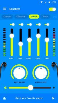 Эквалайзер - усилитель басов и усилитель громкости скриншот 2
