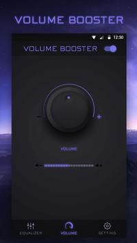 Music Bass Equalizer Booster & Volume Up スクリーンショット 1