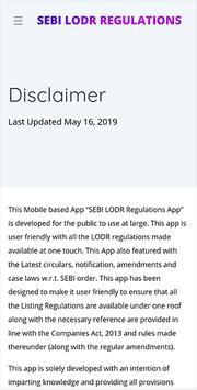 SEBI LODR Regulations App screenshot 2
