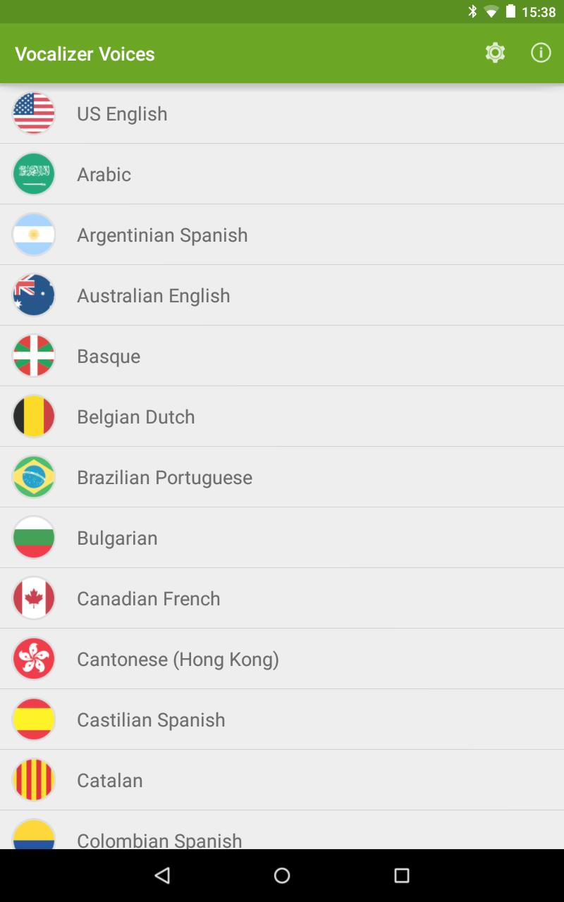 Vocalizer TTS Voice (English) for Android - APK Download