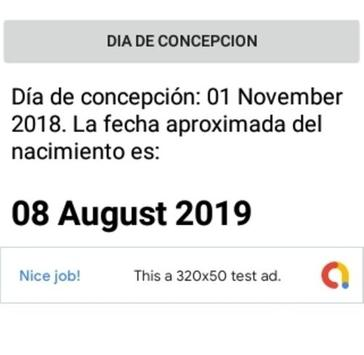3acd62554 Calculadora del Embarazo for Android - APK Download