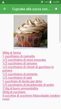Dolci alla zucca ricette di cucina gratis. screenshot 3