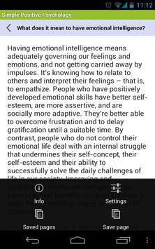 Simple Positive Psychology capture d'écran 6