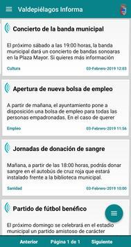 Valdepiélagos Informa poster