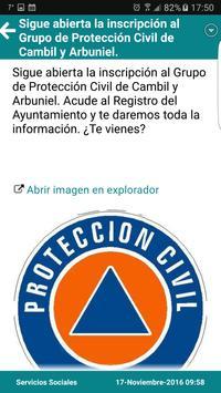 2 Schermata Cambil y Arbuniel Informan