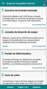Graja de Campalbo Informa screenshot 1