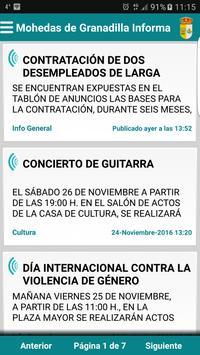 Mohedas de Granadilla Informa poster
