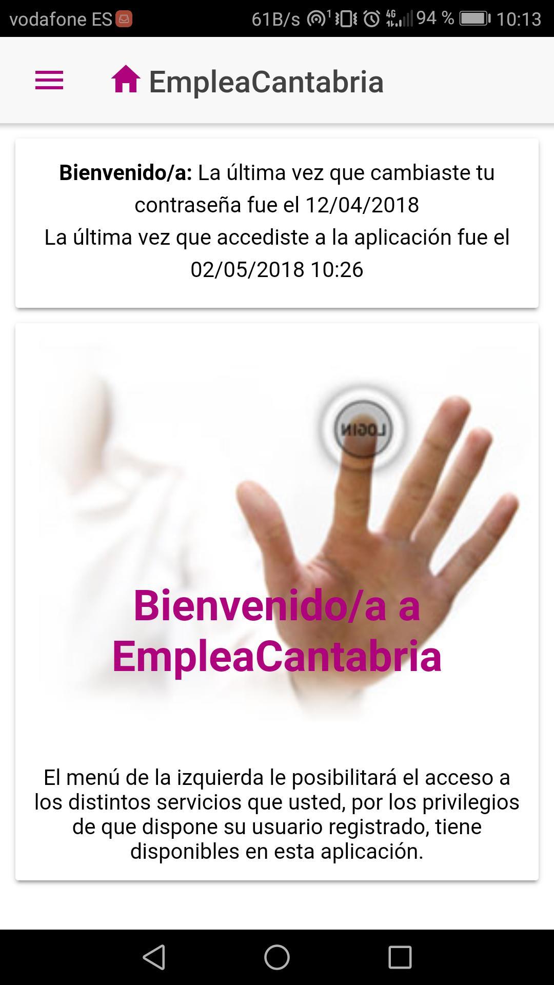 Servicio Cántabro de Empleo poster