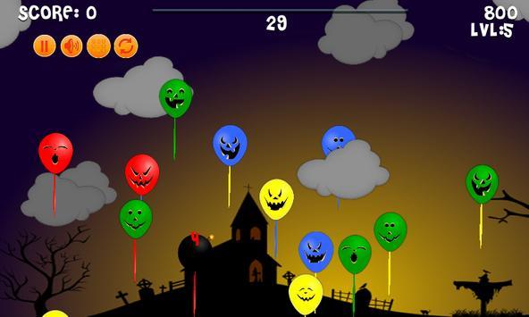 Halloween: Balloons kids free screenshot 1