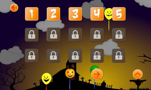 Halloween: Balloons kids free screenshot 2