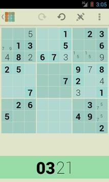 Sudo+ Sudoku screenshot 1