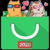 Stickers store free - WAStickerApps icône