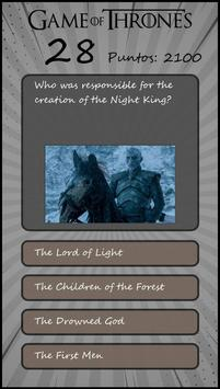 FriQuiz Game of Thrones GOT Quiz screenshot 3