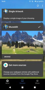 Muzeddit (Muzei 3.0 Reddit Image Source) screenshot 1