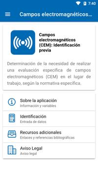 Campos Electromagnéticos (CEM) screenshot 1