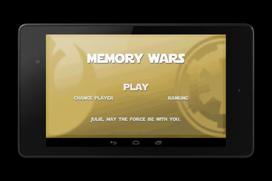 Memory Star Wars Match Up screenshot 12
