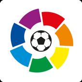 La Liga Official App - Live Soccer Scores & Stats 图标
