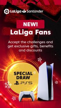 La Liga Official App - Live Soccer Scores & Stats 海报