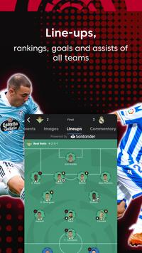La Liga Official App - Live Soccer Scores & Stats 截图 21