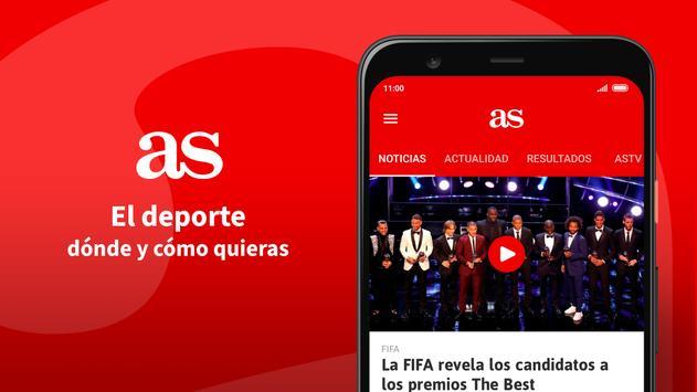 Diario AS – noticias y resultados deportivos Ekran Görüntüsü 6