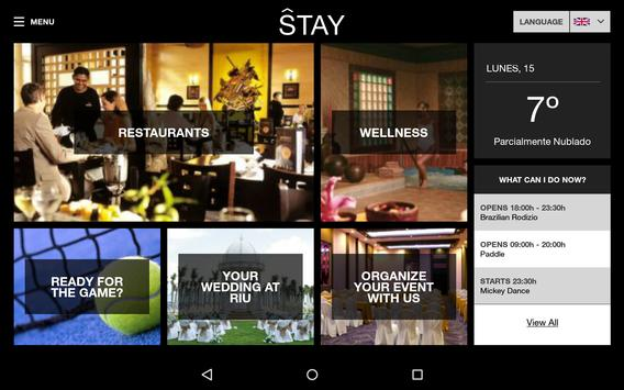 Stay Lobby Touch App screenshot 2