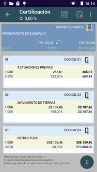 BudCon3. Presupuestos obra screenshot 1