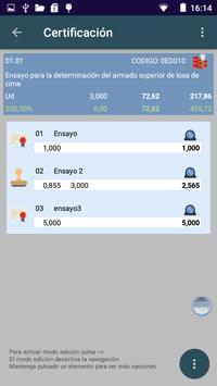 BudCon3. Presupuestos obra screenshot 2