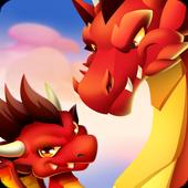 Dragon City: ¡Lucha Con Tu Dragón, Cría Huevos! icono